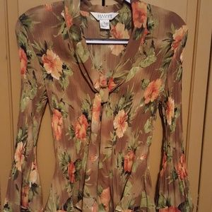NWOT:Allison Taylor blouse